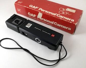 GAF Personal Camera, 110 camera in original box