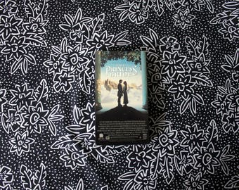 The Princess Bride VHS. 1987 Classic Family Fantasy Fairy Tale Romantic Comedy Movie.  80s Rob Reiner VHS Tape. Childrens Nostalgia Movie