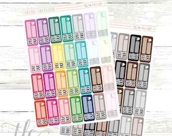 Bill Due Functional Planner Stickers