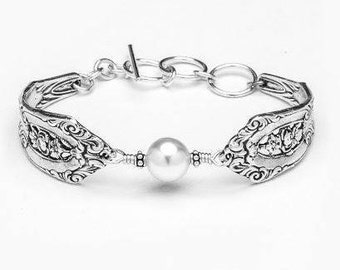 "Spoon Bracelet: ""Empire"" by Silver Spoon Jewelry"