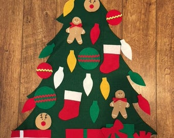 After Christmas SALE!! Children's Felt Christmas Tree (Ready to Ship)