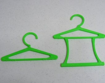 Two Dozen hangers  for Popular 14-1/2 inch WW Dolls and Similarly Proportioned dolls - Includes 2 Styles One dozen of each style