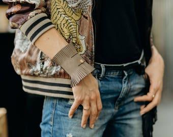 Safari Leather Cuff