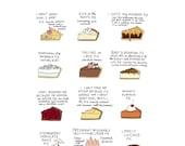 Waitress Pies - Digital Download