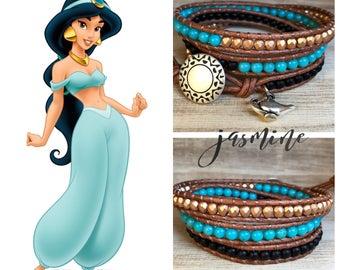 JASMINE Triple Wrap Bracelet