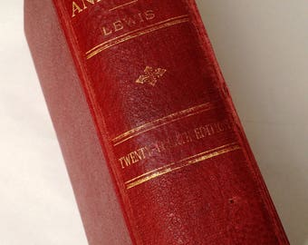 Gray's Anatomy 24th Edition 1944 - Vintage Classic Medical Book