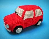 Amigurumi Classic Mini Cooper Inspired Car Crochet PATTERN PDF Toy Home Decor