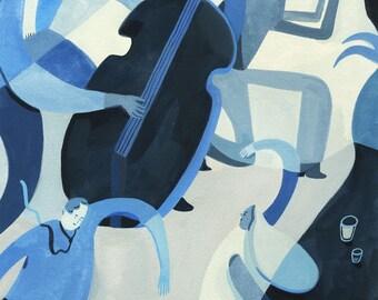 Jazz Original Painting
