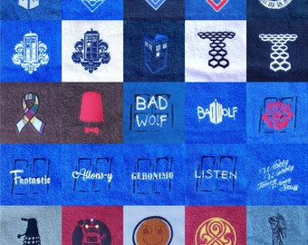 Doctor Who Themed Hand Towel