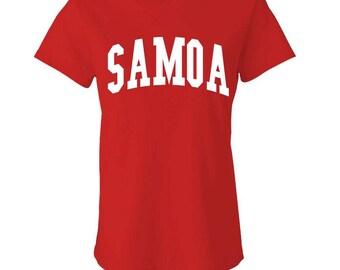 SAMOA - Ladies Babydoll T-shirt