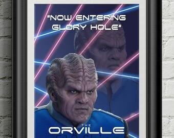 The Orville - Bortus Seth McFarlane TV Show Poster Art Print Wall Decor Poster Motivational Quote