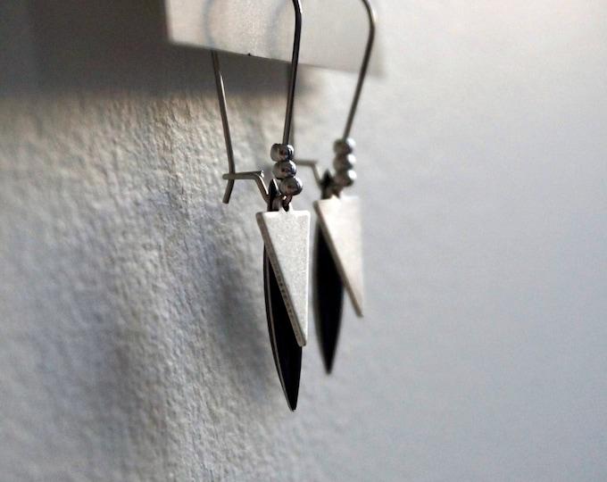 Ava Silver earrings.