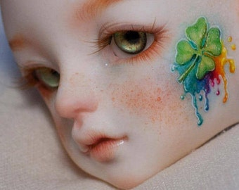 BJD FACE UP commissions, Custom face-up, ooak bjd make-up