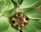 Orgone Pendant - Tigers Eye - Solar Plexus Chakra Healing  - Metaphysical Healing Lightworker Jewelry - Orgone Energy - Small