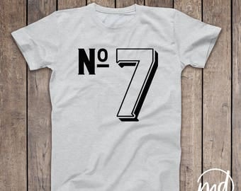 Birthday Shirt Seven, Seven Year Old Birthday Shirt Boy, 7th Birthday Shirt for Boys, Birthday Shirt Boy 7, Seventh Birthday Shirt Boy