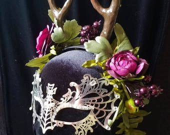 Antlered Forest Nymph Headpiece