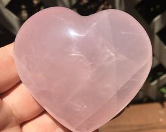2.75 Inch Rose Quartz Heart