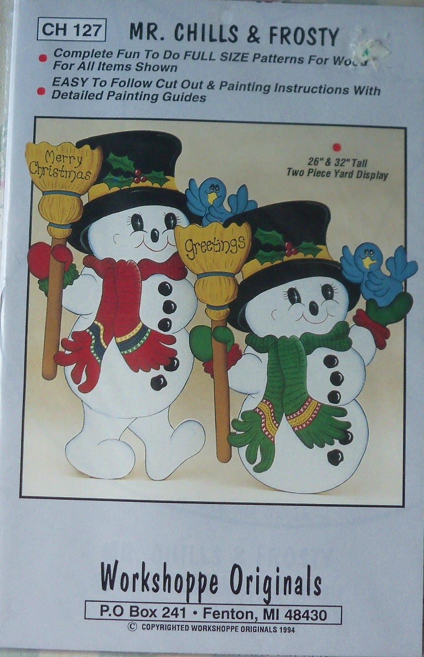 christmas yard art pattern 32