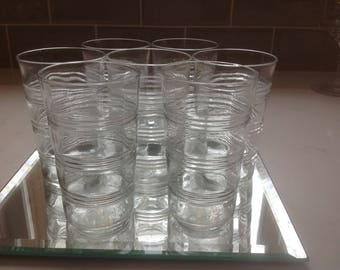 Antique Juice or Bar Glasses - set of 7