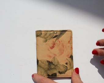 Card Holder Floral VDF Leather
