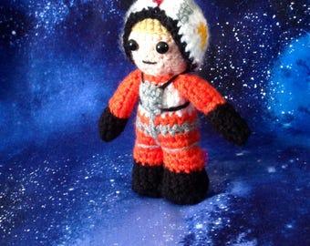 Princess Leia, Luke Skywalker, C3P0, vader, Obi Wan Kenobi or Stormtrooper -star wars inspired crochet characters