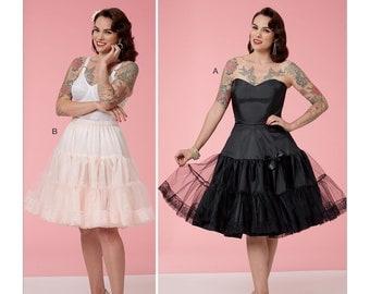 6530, Butterick Full Slip, Half Slip, Bridal Lingerie, Bride Undergarments, Victorian Under Garments, Corset, Patterns by Gertie