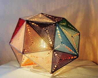 lampe métal & crochet 'GRAPHIC'