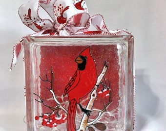 Vases Glass Blocks Ornamentscandlesfaux By