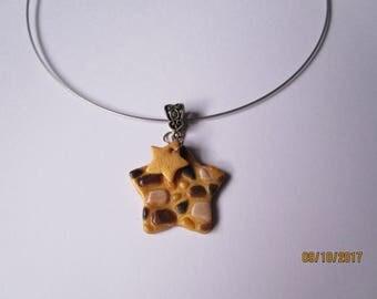 Star statement necklace