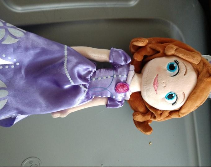 13 inch Plush Sofia the First Doll - Disney Store
