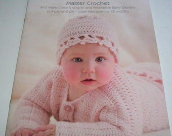 Baby crochet booklet