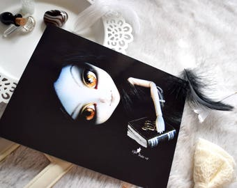 """Abyss"" Pullip Doll - 11x15cm - photography photograph, print, art"