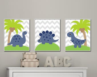 Dinosaur Wall Art | Etsy