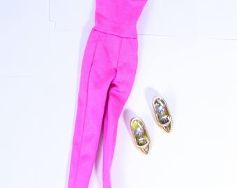 Rare Vintage Jem and the Holograms Hasbro 80s Fashion Accessories - Only the Beginning Jumpsuit and Shoes, vintage jem, hasbro jem fashions