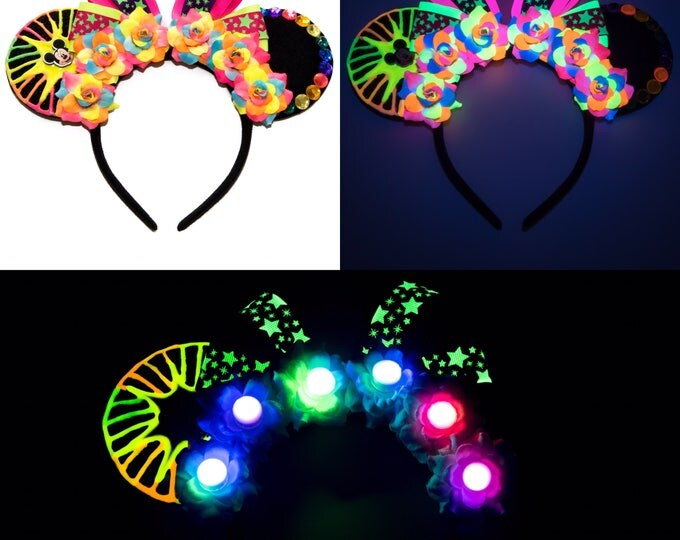 World of Color Mouse Ears Headband