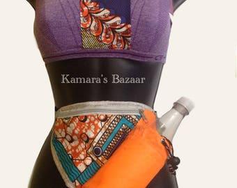 African Jogger Fanny Pack Orange Blaze