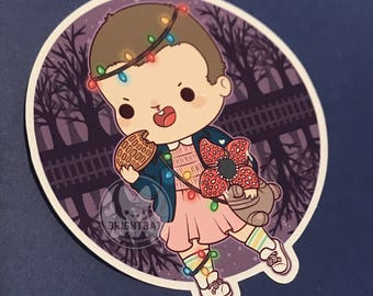Kawaii Eleven Sticker