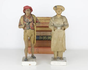 Antique Indian Terracotta Figurines Tourist Ware/Piece