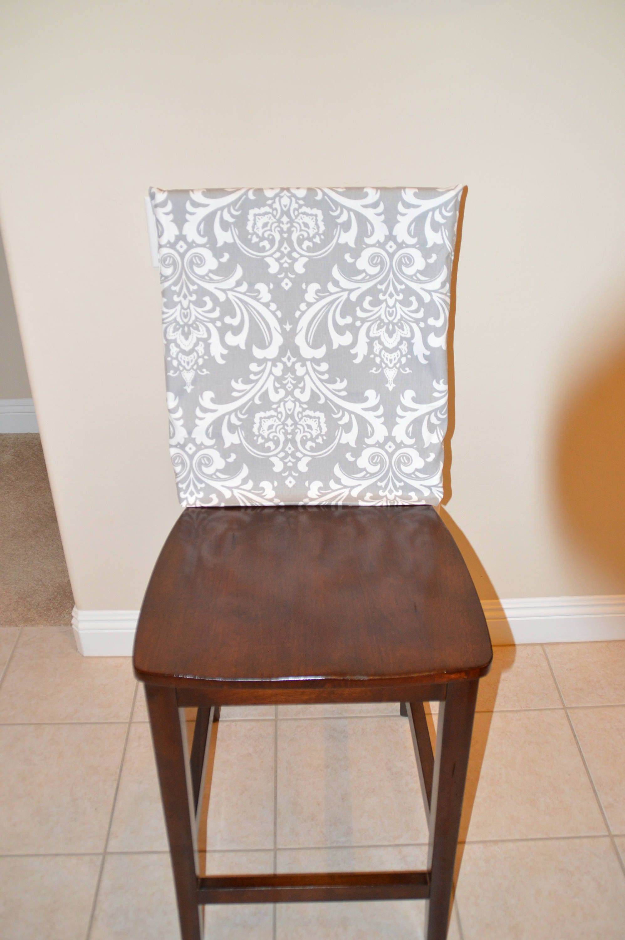 Chair Back Cover Kitchen Chair Slipcover Dining Room Chair