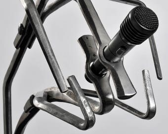Hand Forged Microphone Stand