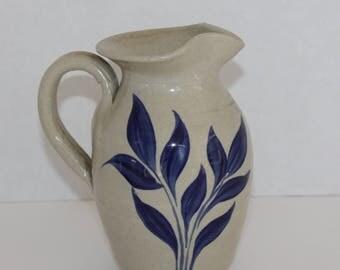 Williamsburg Virginia Pottery Salt Glazed Pitcher