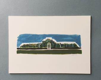 Kew Gardens Palm House Print