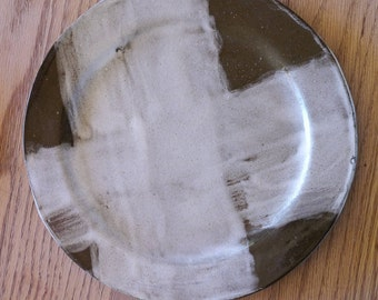 Patches Stoneware plate