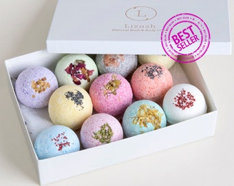 11 bath bombs for Mothers day, Mother's day gift, Bath Bomb set, Bath Bombs, Shower favors, Bath Bomb, bath bombs favors, gift set, spa gift