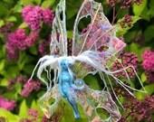 Charity animal sale, tiny fairy ornament, a magical miniature fairy figurine