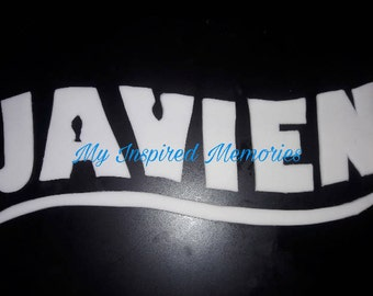 Finding Nemo personalized name, finding dory personalized name, finding nemo fondant name, finding dory fondant name
