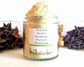 Roasted Garlic Parmesan Gourmet Popcorn Seasoning Spice Mix Topping Flavoring Glaze Coating Foodie Gift