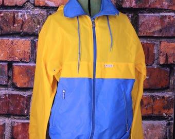 K-Way Vintage 1980s Windbreaker Jacket