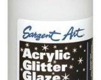 Acrylic Glitter Glaze
