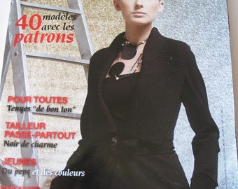 Catalog magazine sewing 40 models to build woman with patterns and explanations